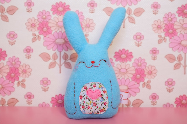 Handmade bunny by Dancingintherains