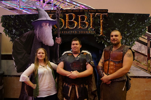 THE HOBBIT, Midnight Screening 2012