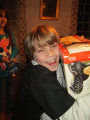 A Boy and his Waffle Maker by Teckelcar
