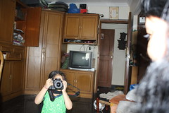 Marziya Shakir 5 Year Old Shoots Bhavana On 60D by firoze shakir photographerno1
