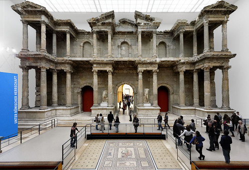 Market Gate of Miletus. Pergamon Museum, Berlin