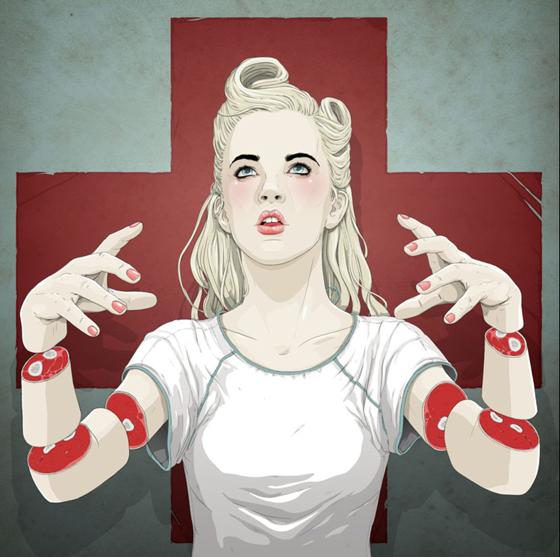 Illustartion by Jason Levesque (Stuntkid), image via Abduzeedo