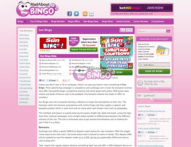 www.sunbingo.co.uk