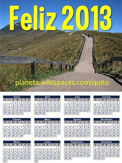 Feliz 2013: Quito, Ecuador
