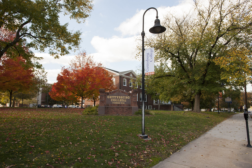 Huber, a first-year residence hall, is one of the first campus buildings you will encounter if approaching the College from the north.