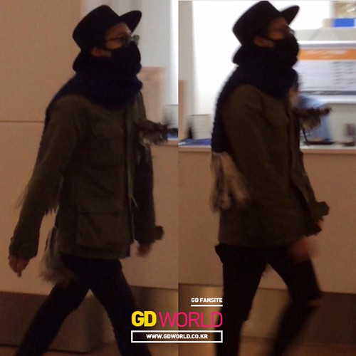 Big Bang - Haneda Airport - 27feb2015 - G-Dragon - Always GD - 01