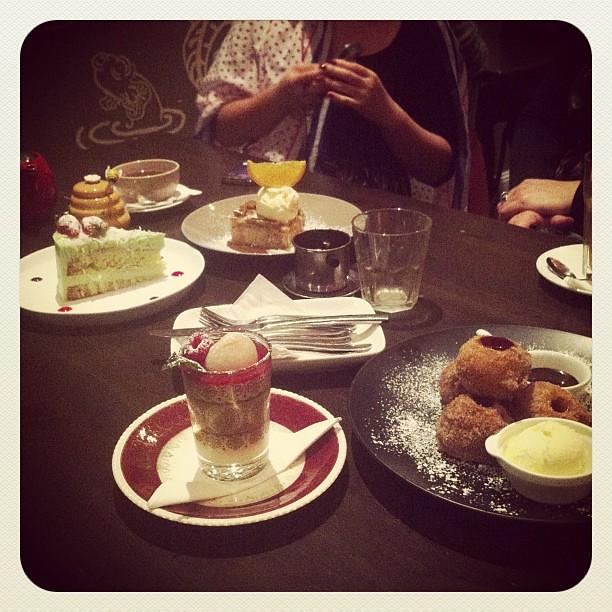 Eggless Dessert Cafe August Menu