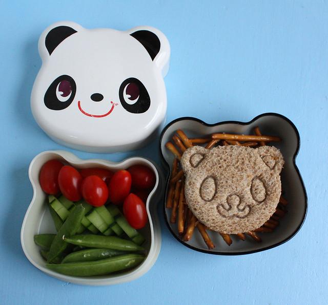 Preschooler Panda Bento #355