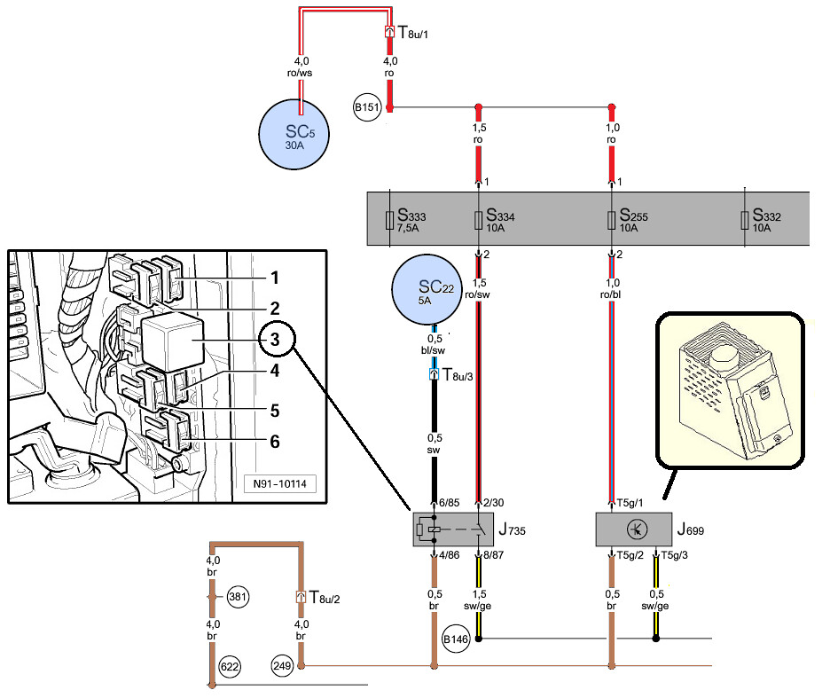 vwvortex com retrofitting a refrigerator to a phaeton audi q7 wiring diagrams