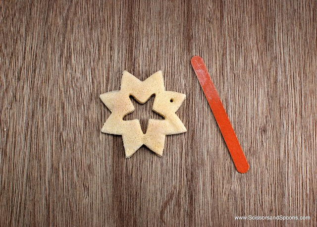 Salt Dough Snowflake Ornament
