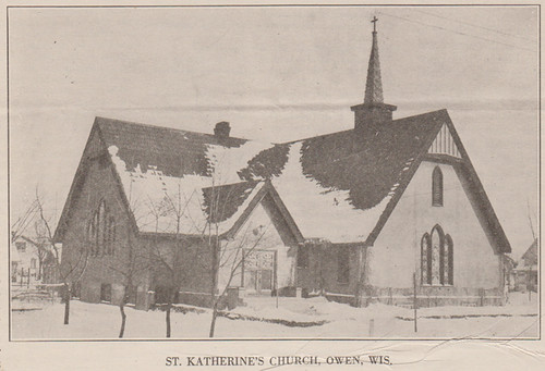 St. Katherine's Episcopal Church at Owen, Wisconsin