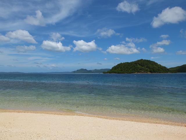 接著來到Calumpuya島, 德國人跟我說他很喜歡這裡