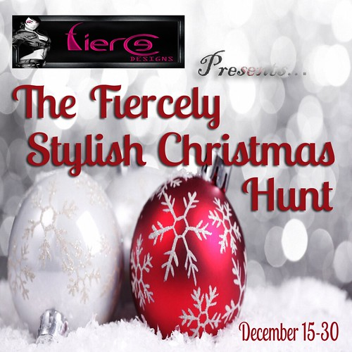 The Fiercely Stylish Christmas Hunt Poster
