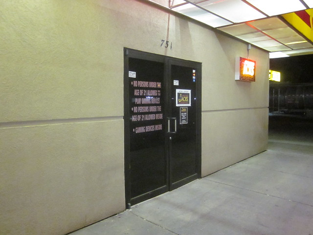 One Eyed Jacks Casino Door