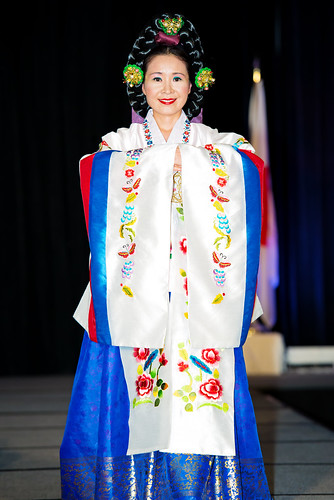 Traditional Korean Wedding Gown - JASH Gala 2012