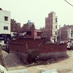 Slum at Madanpur Khadar