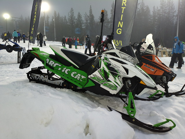 Arctic Cat Sno Pro  For Trails