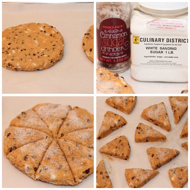 Harvest Pumpkin Scones - Collage