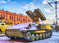 Soviet SAM System 9K35 Strela-10. Советский ЗРК Стрела-10
