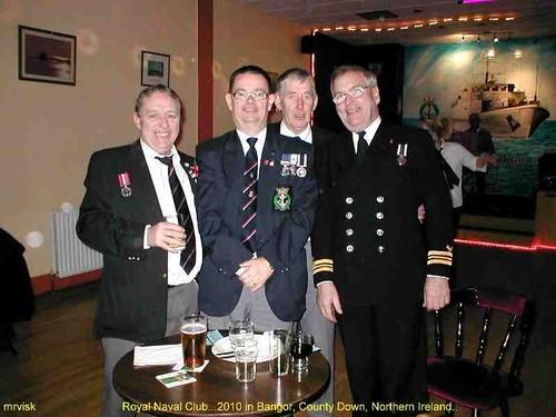 Bangor.- Royal Naval Club .. 2010 in County Down, Northern Ireland.