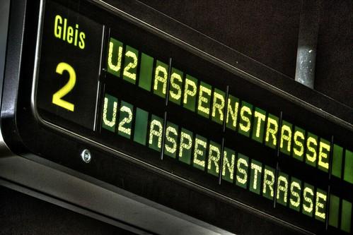 U2 Aspernstrasse