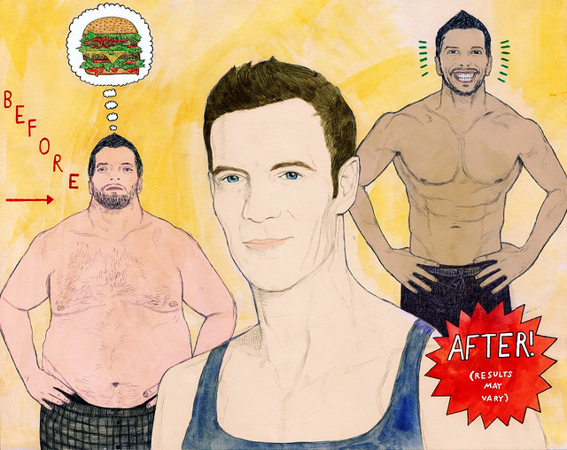 TONY HORTON illustration for NYLON magazine final image