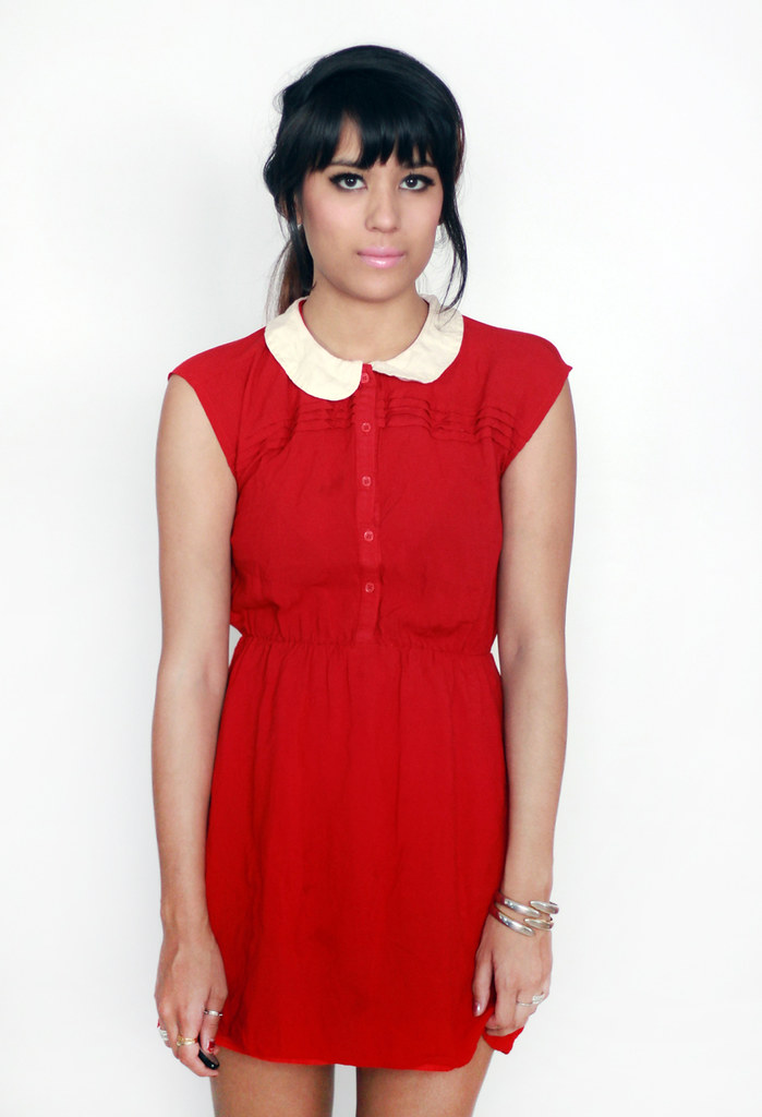 Tarte Vintage dress with Peter Pan collar