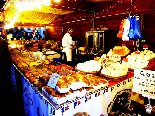 French Goodies at Glasgow Christmas Market