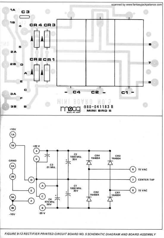 Moog Music Forum • View topic - Help me swap the power capacitors on