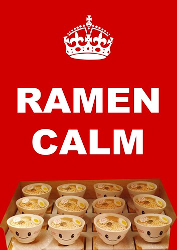 RAMEN CALM by Colonel Flick