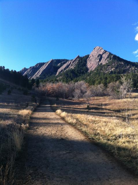 Trail - Hiking at Royal Arch, Boulder, CO