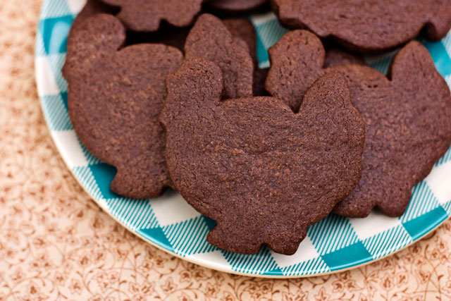 chocolate cut out cookies, cookie recipe, Thanksgiving cookie recipe, holiday cookie recipe, holiday cookie, sugar cookie recipe, cocoa cookie recipe, Turkey cookies, baking cookies