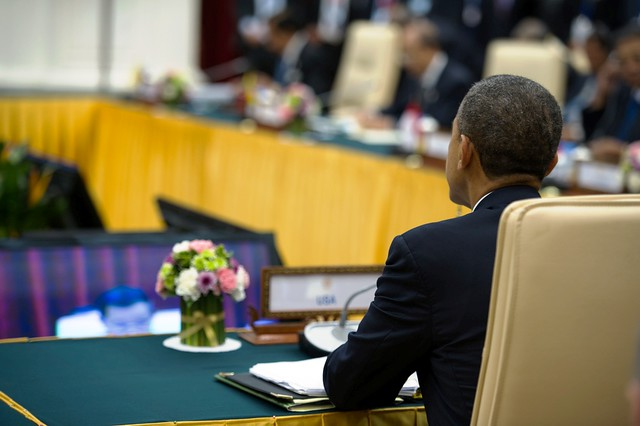 President Obama Participates in the ASEAN-U.S. Leaders' Meeting