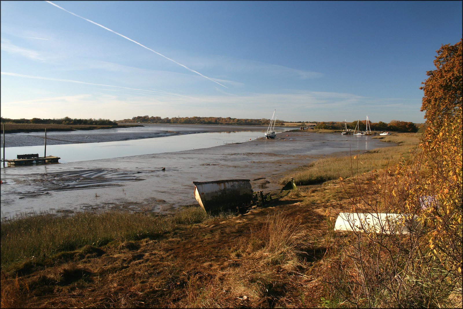 The River Colne near Wivenhoe