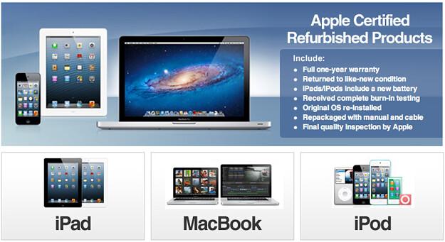 Apple prueba su primera tienda en eBay con productos restaurados