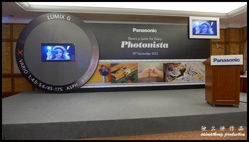 Launch of Panasonic Latest Lumix 2012 Series @ Sunway Hotel