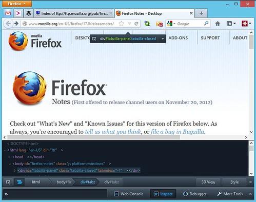 Скачать Mozilla Firefox 17 Final