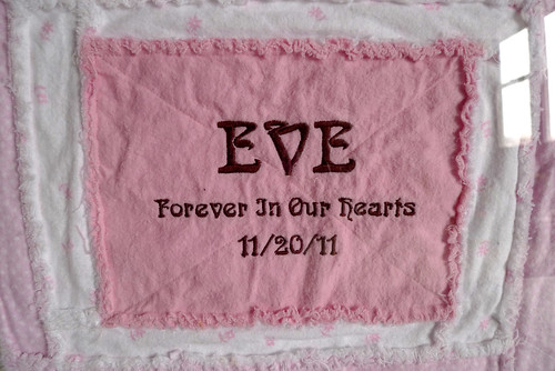 on Eve's first birthday