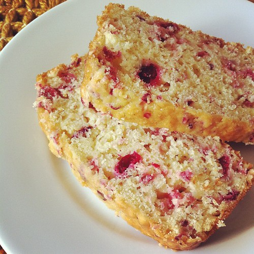 cranberry-orange tea bread :  Whole Foods' recipe #thanksgiving #fromourkitchen