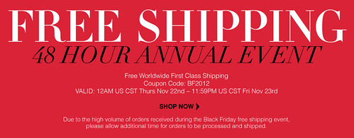 Sigma Beauty Brushes Black Friday Free Shipping Sales November 2012 Thanksgiving