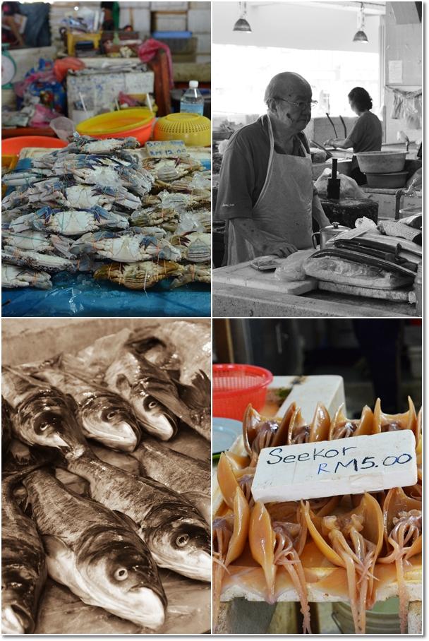 Fresh Seafood Stalls 2
