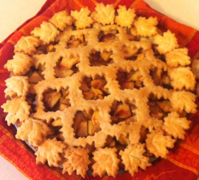 apple maple-sugar pie   Flickr - Photo Sharing!