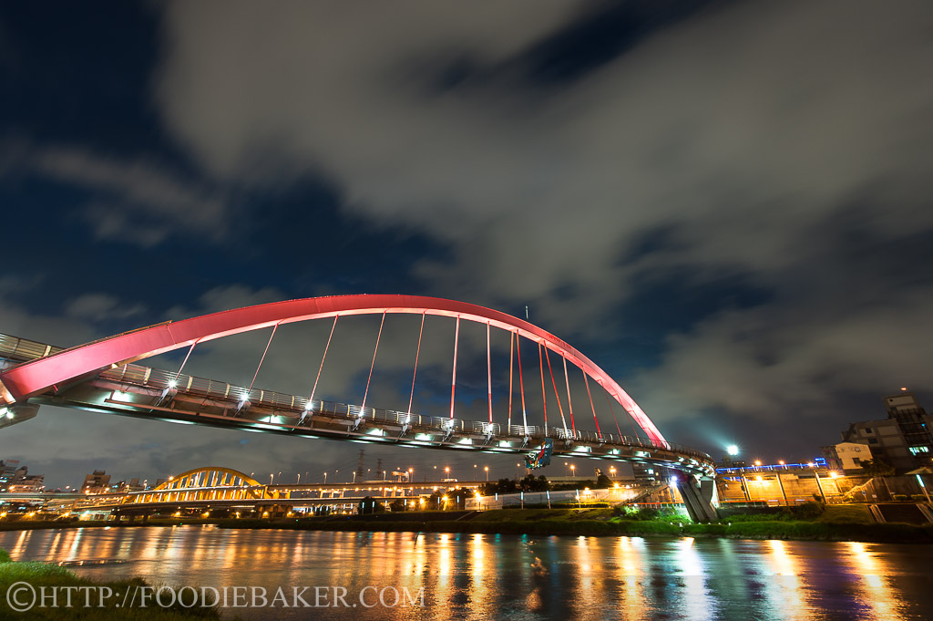 Rainbow Bridge, Taipei, Taiwan