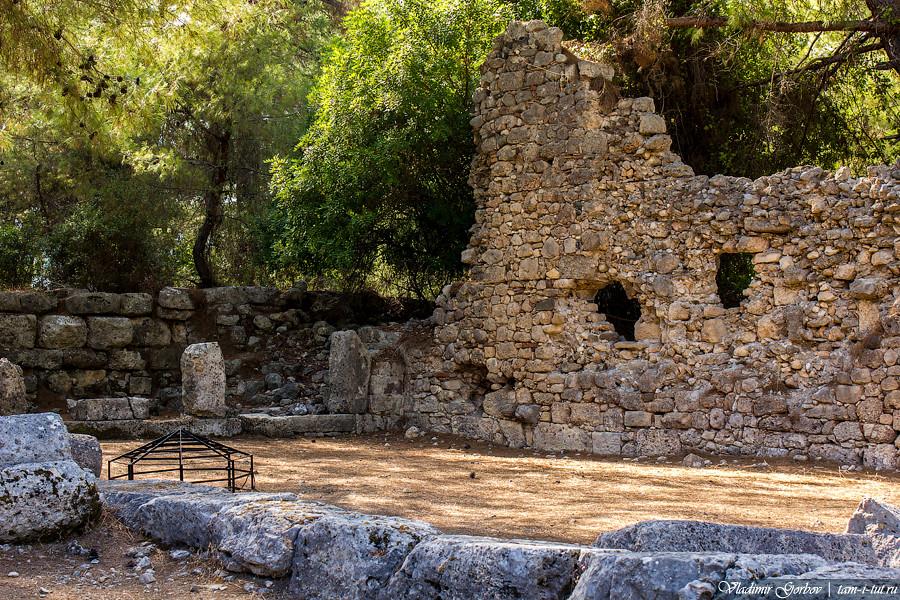 античный город Фаселис
