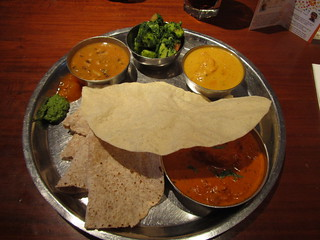 Thali from Masala Zone, London