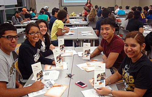 UT Outreach San Antonio Scholarship Session