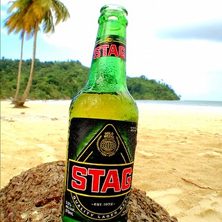 Today is a #STAG day cheers #beer #Maracas #Trinidad