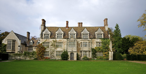 The former 13th-century Augustinian priory At Anglesey Abbey