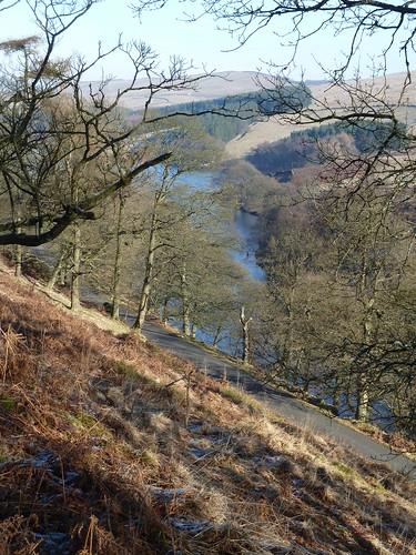 The Goyt Valley near Buxton ...
