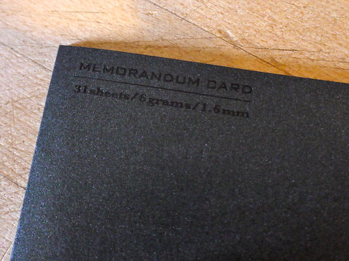 Memorandum Card | World's Tiniest Notebook